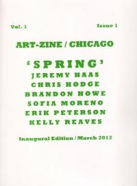 Art Zine Chicago vol 1 #1 Mar 12