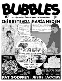 Bubbles #7 Independent Fanzine About Comics and Manga