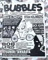 Bubbles #3 Independent Fanzine About Comics and Manga