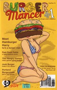 Burgermancer #1 Aug Sep 12 the Burger Lovers Magazine
