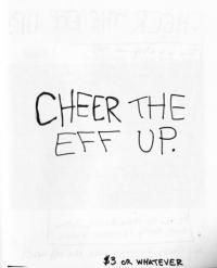 Cheer the Eff Up #1