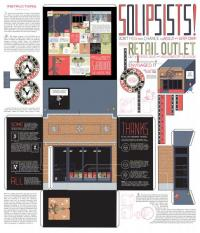 Chris Ware Quimby's 25th Anniversary Print Larger Size