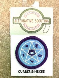 Curses and Hexes Alternative Scouting Merit Badge Patch