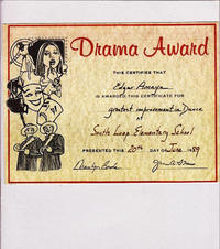 Drama Award: Greatest Improvement in Dance