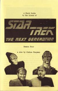 Field Guide to the Aliens of Star Trek The Next Generation Season Four