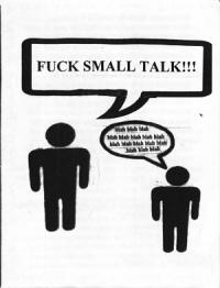 Fuck Small Talk Both And Always Never Split #1