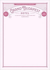 Grand Budapest Hotel: Fictional Hotel Notepad Set
