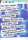 Hey Zine Reader Wanna Learn to Do Something