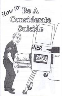 How to Be A Considerate Suicide