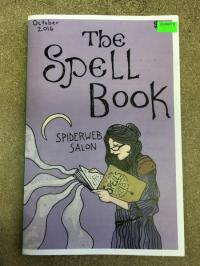 Spell Book by Spiderweb Salon