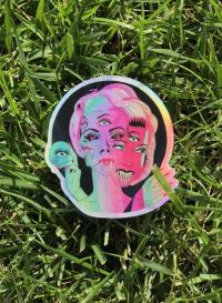 Galactic Mutant Holographic Sticker