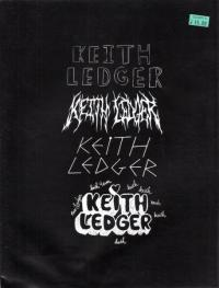 Keith Ledger #1