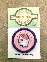 Mind Control Alternative Scouting Merit Badge Patch