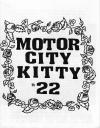 Motor City Kitty #22