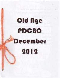 Old Age #1 Dec 12