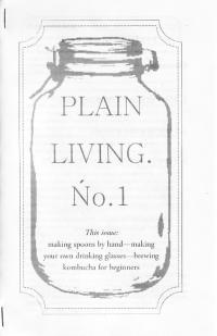 Plain Living #1