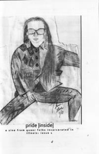 Pride Inside #1 Zine From Queer Folks Incarcerated in Illinois