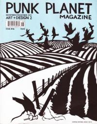 Punk Planet #46 Nov Dec 01 Art and Design Issue 2