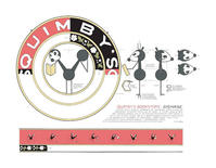 "Quimby's Bookstore Chris Ware <span class=""highlight"">Signage</span> Print"