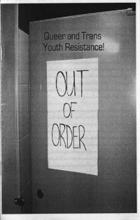 Out of Order Queer and Trans Youth Resistance