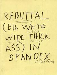 Rebuttal In Spandex