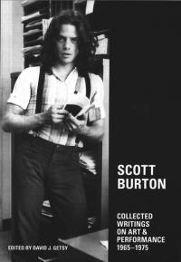 Scott Burton Collected Writings On Art and Performance 1965 1975
