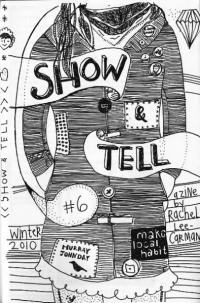 Show and Tell #6  a Zine Made With Love In Bend Oregon Win 10