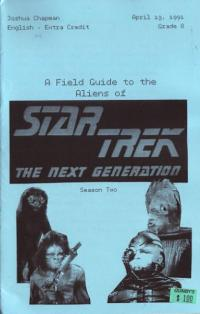 Field Guide to the Aliens of Star Trek The Next Generation Season Two
