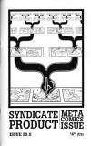 Syndicate Product #20 Meta Comics Issue