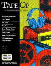 Tape Op #62