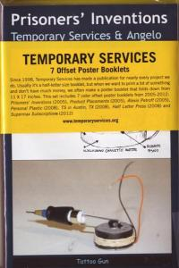 Temporary Services 7 Offset Poster Booklets