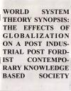 World System Theory Synopsis