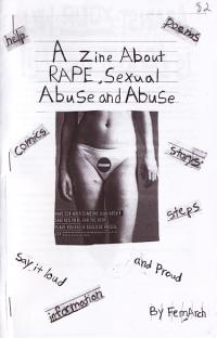Zine About Rape Sexual Abuse and Abuse