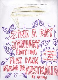 Zine a Day Flat Pack Jan 14 Edition