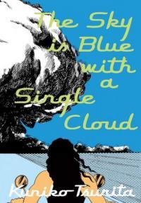 Sky is Blue with a Single Cloud