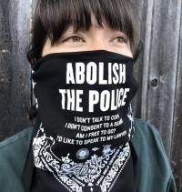 Abolish The Police - Chinga La Migra Benefit Bandana