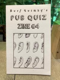 Burf Quimby's Pub Quiz #4