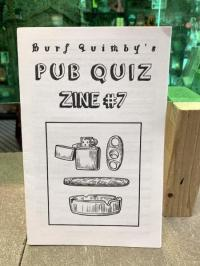 Burf Quimby's Pub Quiz #7