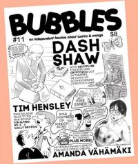 Bubbles #11 Independent Fanzine About Comics and Manga