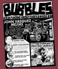 Bubbles #8 Independent Fanzine About Comics and Manga
