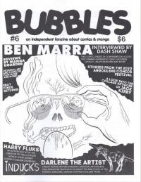Bubbles #6 Independent Fanzine About Comics and Manga