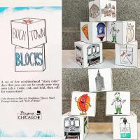 Bucktown Blocks: A Set of Five Neighborhood Story Cube Dice