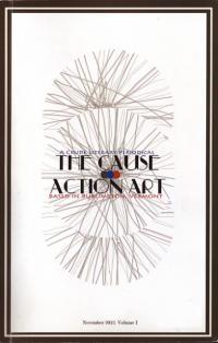 Cause vol 1 Action Art a Crude Literary Periodical Nov 12