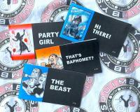 Jack Chick Tract Pack of 4