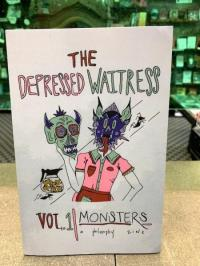 Depressed Waitress vol 1 Monsters: A Philosophy Zine