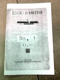 Errorsmith #1