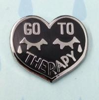 Go To Therapy Enamel Pin