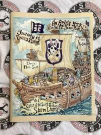 Journey to Bunny Island: An Artists Coloring Book From the EE Bunny Pirate Series vol. 1 Crew of the Swift Ship Storm Warren