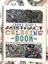 Tommy Dean's Abstract Coloring Book