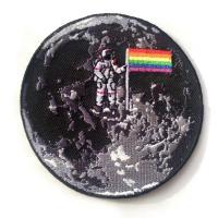 LGBTQIAA Moon Mission Patch
